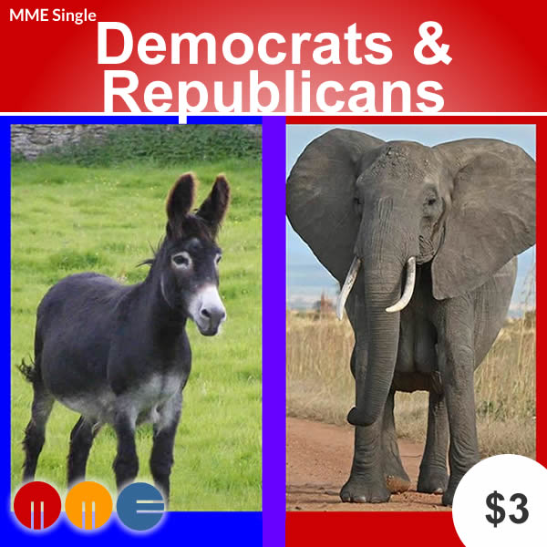 Democrats & Republicans -- MME Single