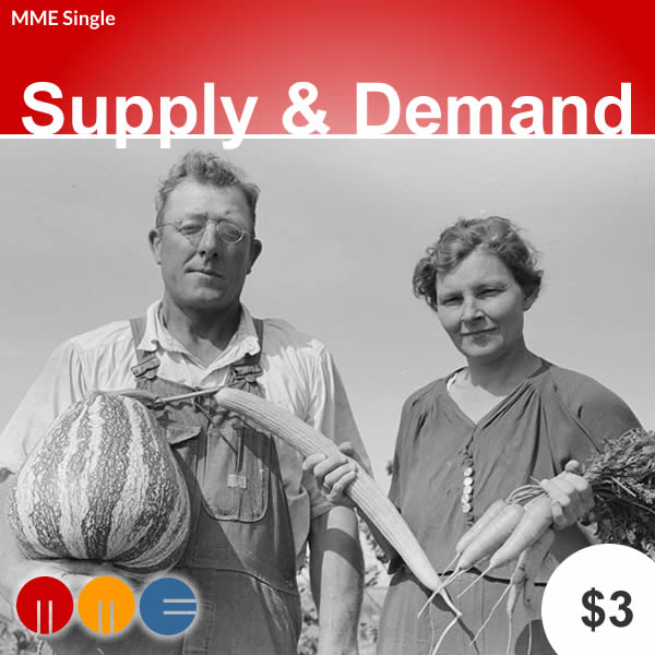 Supply & Demand -- MME Single